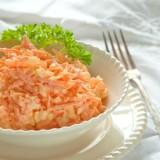 Пикантная морковь с чесноком