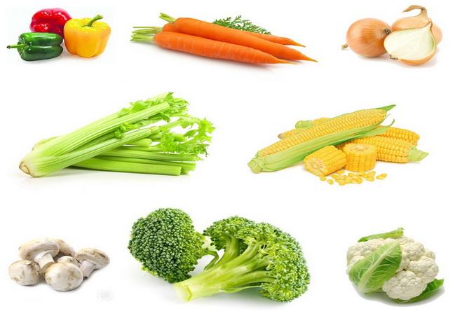 MyCollages-набор овощей-